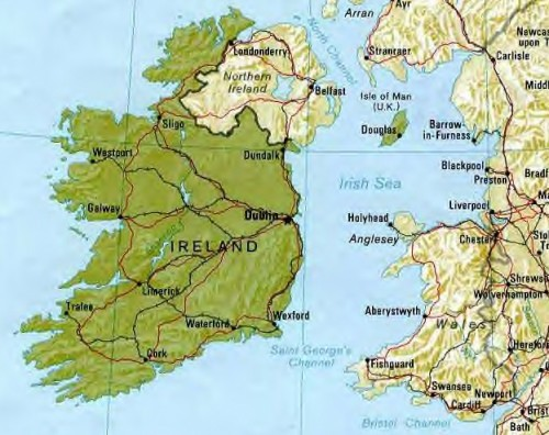 Show Me The Map Of England.Show Map Of Dublin Ireland And Liverpool England Blurtit