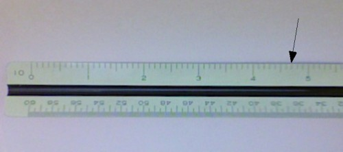 how do i read inches on a ruler blurtit. Black Bedroom Furniture Sets. Home Design Ideas
